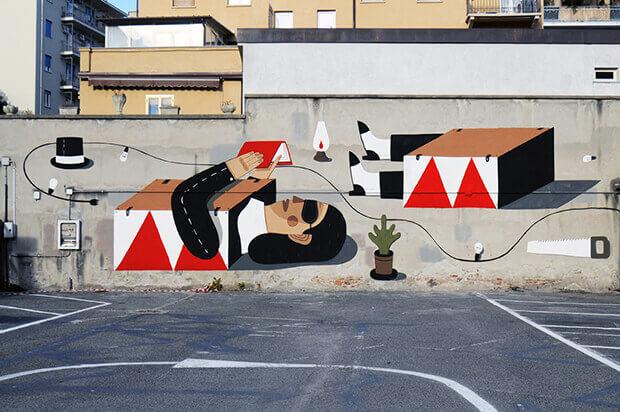 Abithoudini, murales
