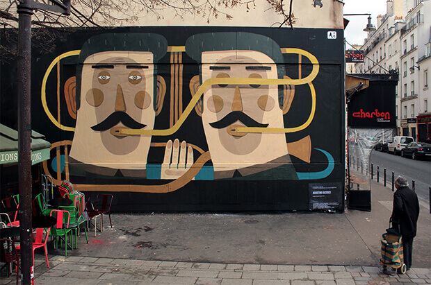 The dialogue, murales 2013