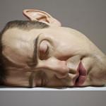 Volto di uomo - scultura