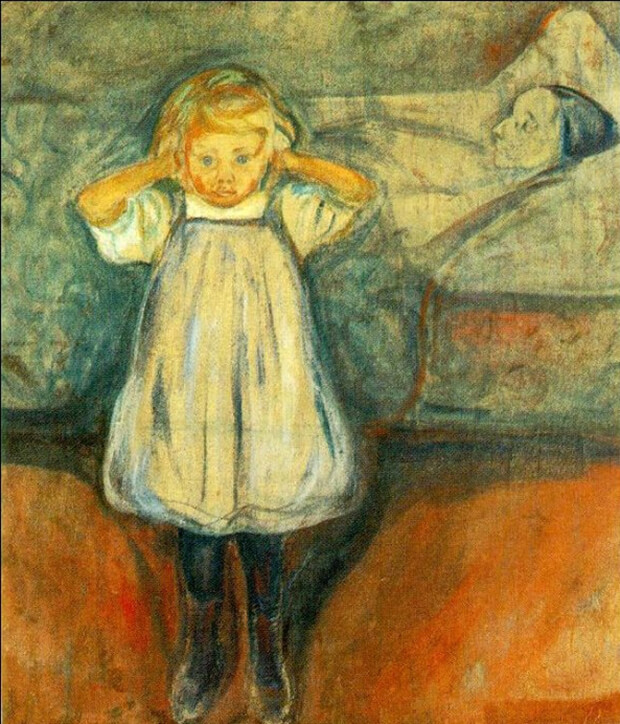 Edvard Munch Morte Della Mamma 1899 Katarte