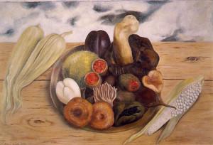 Frutti della terra, Olio su masonite, 1938
