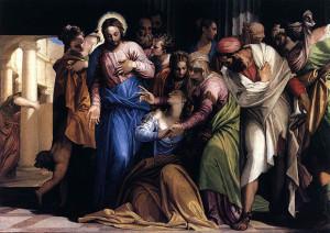 Conversione di Maria Maddalena, 1548, olio su tela, cm. 118×164