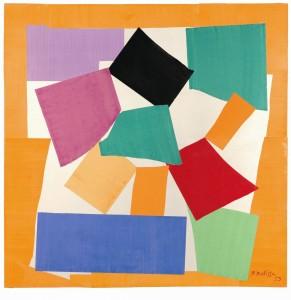 La Lumaca. 1953, Gouache tagliato e incollato su carta montata su tela. Successione H.  Matisse-Katarte