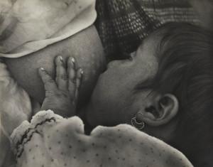 Bambina che prende il latte, 1926 - 27