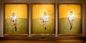 Francis Bacon. Tre studi di Lucian Freud, 1969