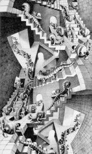 Case di scale, 1951