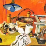 Renato Guttuso. Still Life with lamp,1940-41. Courtesy Art Gallery Maggiore, Bologna