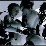 "Bjork. A frame from videoclip ""All Is Full of Love"""