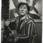 Photo of Marc Chagall. Paris, 1923. Print gelatin silver, cm. 22,7x16,3. Credits: Israel Museum Collection Chagall © ® by SIAE