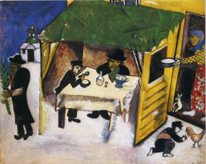 Chagall The Feast of the Tabernacles, 1916
