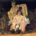 Egon Schiele. The Family, 1918