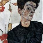 Egon Schiele. Self portrait, 1912