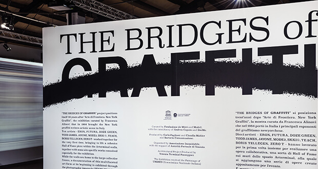 The Bridges of Graffiti. Exhibition poster