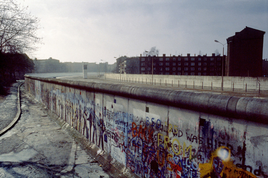 Watchtower - Berlin Wall, Kreuzberg - Marz 1986