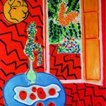 Henri Matisse, Red Interior, 1947. Oil on canvas, cm. 116 x 89. © Succession H. Matisse, c / o Pictoright Amsterdam 2014