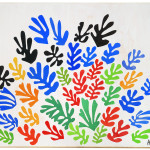 Henri Matisse, The Sheaf, 1953. Gouache on paper, cut and pasted, mounted on canvas cm. 293,4 x 350,5, © c / o Pictoright Amsterdam, 2014