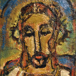 Georges Rouault. Ecce Homo, 1952. Oil on plywood, cm. 50 x 45. Vatican City, Vatican museums - Direction of Museums. © Georges Rouault, by SIAE 2015. Photo: © Katarte.net