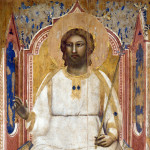 Giotto. God the Father enthroned, ca. 1303-1305. Tempera and gold on wood. Scrovegni Chapel, Padua - Italy