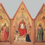 Stefaneschi Triptych recto, the second decade of the fourteenth century. Tempera and gold on wood. Basilica of Saint Peter. Vatican City, Vatican Museums