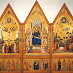 Giotto. Stefaneschi Triptych towards