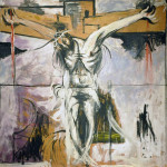 Graham Sutherland. Crucifixion Study, 1947. Olio su masonite, cm. 97 x 118. Vatican City, Vatican museums - Direction of Museums. Photo: © Katarte.net