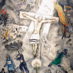 Marc Chagall. White Crucifixion, 1938. Oil on canvas, cm. 155 x 139,8. Chicago, The Art Institute of Chicago, 1946, gift of Alfred S. Alschuler, © Chagall ®, by SIAE 2015. Photo: © Katarte.net