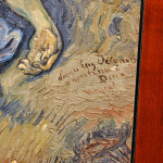 Vincent van Gogh. Compassion (from Delacroix) -detail- 1890 ca. Oil on canvas, cm. 41,5x34. Vatican City, Vatican museums - Direction of Museums. Photo: © Katarte.net