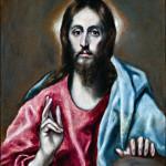 El Greco - Salvatore Benedicente. 1600-1610