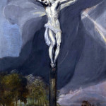El Greco - Crucifixion. oil on canvas, 1573-1574
