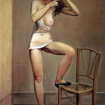 Balthus. Alice in the mirror, 1933, cm. 162 x 112. Oil on canvas. Collection Centre Georges Pompidou, Paris