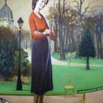 Balthus Lelia Caetani portrait, 1935. Metropolitan Museum, New York