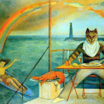 Balthus. The Cat of the Mediterranean, 1949. Private collection, © Balthus © Mondadori portfolio/Bridgeman Images