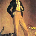 Balthus. The King of cats, 1935. Oil on canvas, cm. 71 x 48. Private collection, © Balthus © Mondadori Portfolio/Bridgeman Images