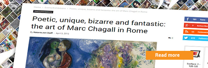Exhibition chagall rome italy