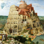 Pieter Bruegel the Elder. Great Tower of Babel, 1563. Oil on canvas, cm. 114 x 155. Museum of the History of Art, Wien