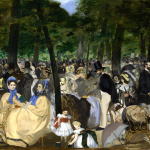 Edouard Manet. Music in the Tuileries Gardens, 1862. Oil on canvas, cm. 76.2 x 118.1. The National Gallery, London, Sir Hugh Lane Bequest, 1917 © The National Gallery, London. Eugène Delacroix