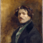 Eugène Delacroix. Self Portrait, about 1837. Oil on canvas, cm. 65 x 54.5. Louvre museum, Paris © RMN-Grand Palais / Jean-Gilles Berizzi