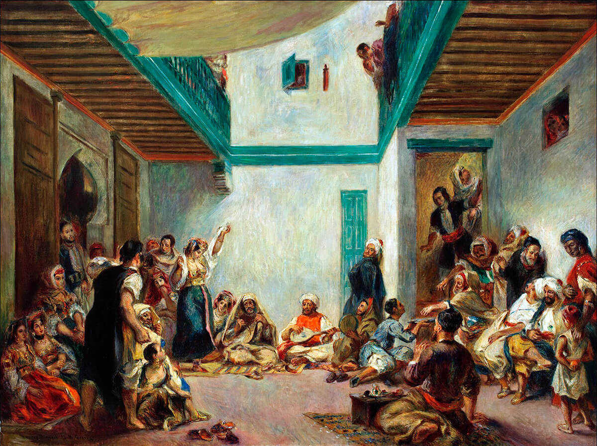 Matrimonio In Morocco : Eugène delacroix and the rise of modern art