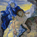 Eugène Delacroix. Vincent van Gogh. Pietà (after Delacroix), 1889. Oil on canvas, cm. 73 x 60.5. © Van Gogh Museum (Vincent Van Gogh Foundation), Amsterdam