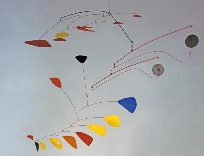 Wassily Kandinsky. Dominant curve, 1936. Oil on canvas. Solomon R. Guggenheim Museum. Solomon R. Guggenheim Founding Collection, New York / Ph. Kristopher McKay