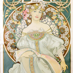 Alfons Mucha - Dreaming Champenois Paris - 1897