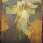 Alfons Mucha - France embraces Bohemia - photo Katarte