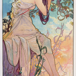 Alphonse Mucha - Four season - Summer - 1896
