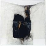 Alberto Burri. White B, B White, 1965. Plastic, Acrylic, PVA glue, burning of cellotex, cm 151.1 x 151.1. Solomon R. Guggenheim Foundation, Legacy Collection Hannelore B. Schulhof, 2012