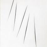 Lucio Fontana. Spatial Concept, Waited, 1965. Water-based paint on canvas. Venice, Solomon R. Guggenheim Foundation, Donation, © Fondazione Lucio Fontana, Milan by SIAE 2016 / Ph. David Heald