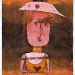 paul klee portrait of mrs p in the south - 1924