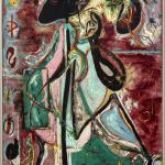 Jackson Pollock. The Moon Woman, 1942. Oil on canvas, cm 175.2 x 109.3. The Solomon R. Guggenheim Foundation. Peggy Guggenheim Collection, Venice