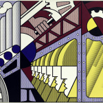Roy Lichtenstein. Preparations, 1968. Oil and acrylic Magna on three canvases together, cm 304.8 x 548.6. New York, Solomon R. Guggenheim Museum