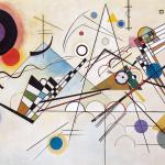 Wassily Kandinsky. Composition 8, 1923. Oil on canvas, cm 140 x 201. Solomon R. Guggenheim Museum, New York City Solomon R. Guggenheim Founding Collection, by gift. 2016