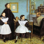 Edgar Degas. The Bellelli Family, 1858–1867. Orsay Museum, Paris